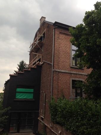 Villa en rénovation